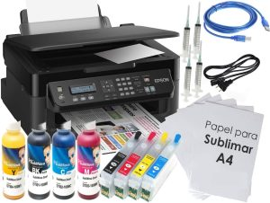 kit sublimación Epson WF-2510